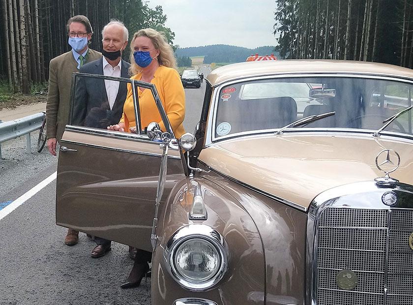 Ortsumfahrung Auto Freilinger