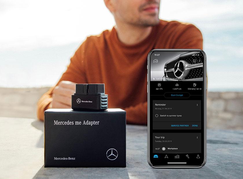 Mercedes me Adapter Auto Freilinger