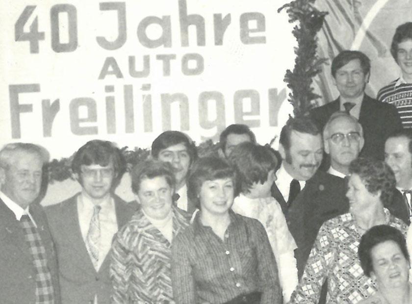 Historie von Freilinger